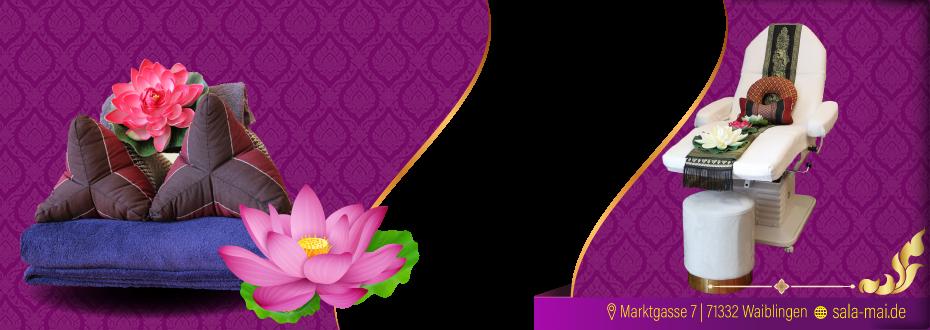 Willkommen im Sala Mai Thai-Massage